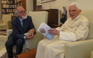 elio guerriero con papa benedetto xvi