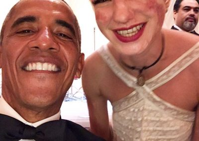 Bebe Vio e Obama