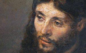 REMBRANDT Volto di Cristo, 1648