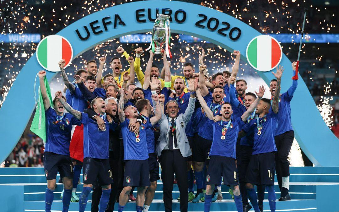 L'ITALIA È CAMPIONE D'EUROPA DI CALCIO!